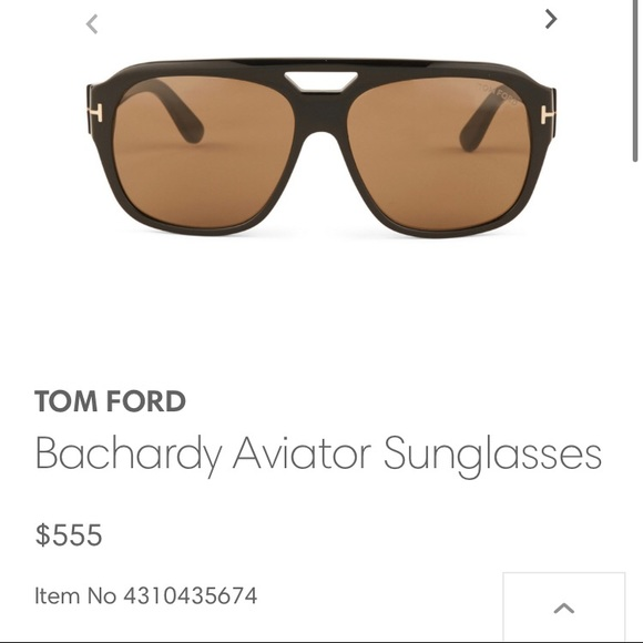 Brand New Tom Ford Bachardy Aviator Sunglasses